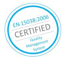 vertimo biurų standartas EN 15038